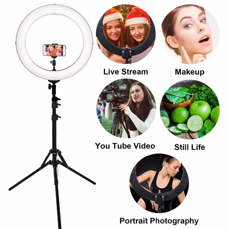 ring light for vlogger