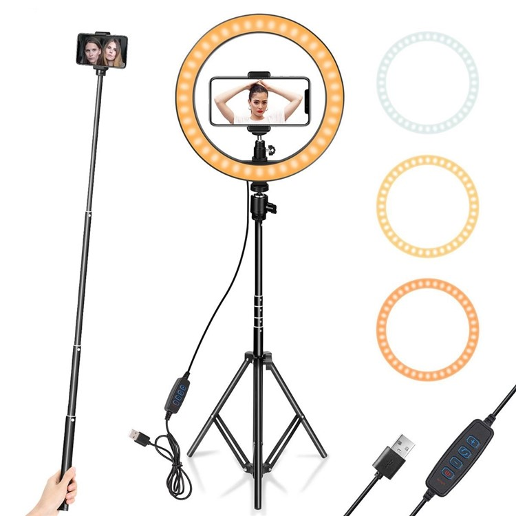 10 inch ring light for youtube video