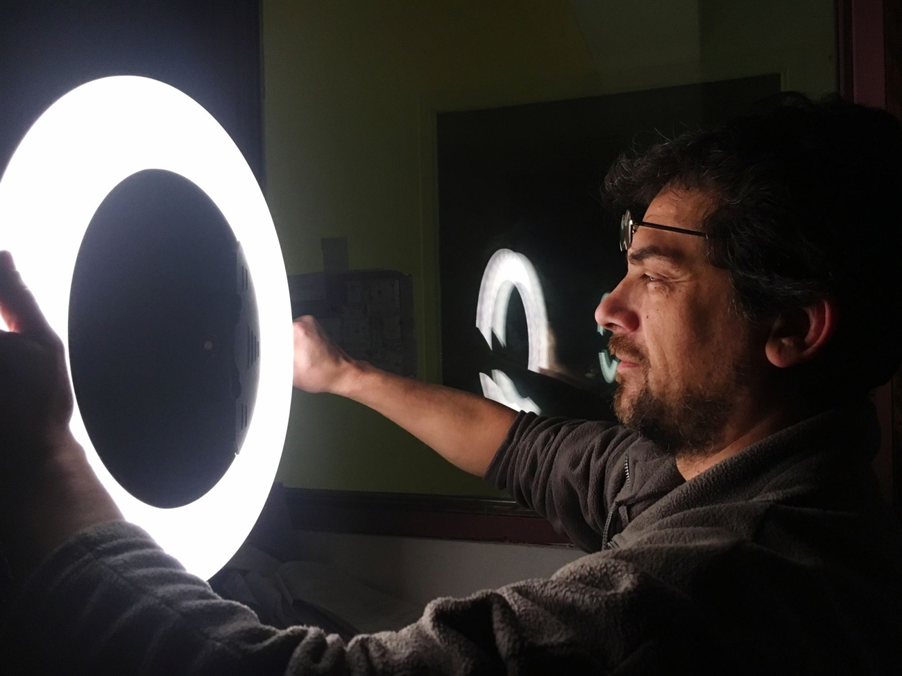 desktop ring light