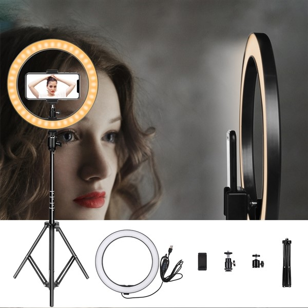 aixpi 10 inch ring light