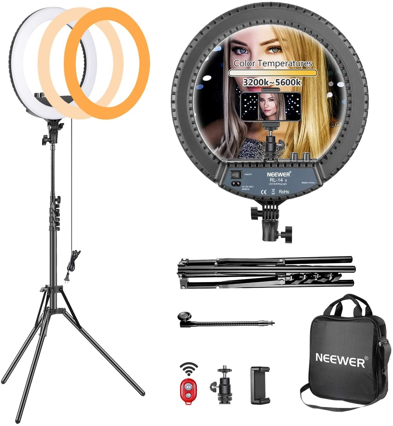 neewer 14 inch led ring light