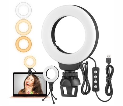 4 Inch Selfie Ring Light with Clip